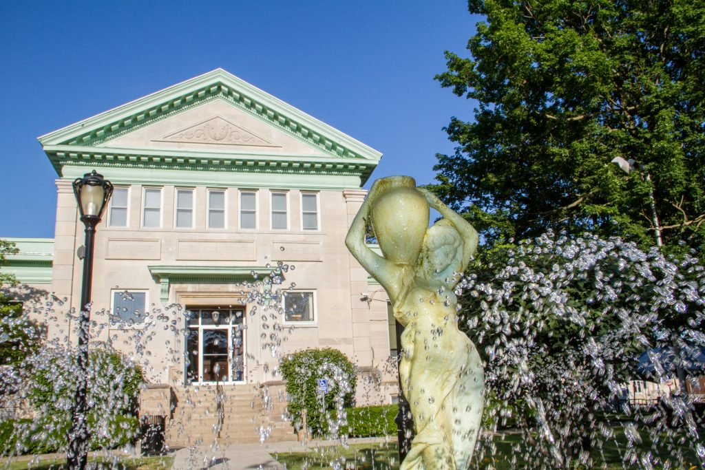 Viewing the architecture at Litchfield Carnegie Library is one of the top 10 things to do in Litchfield.