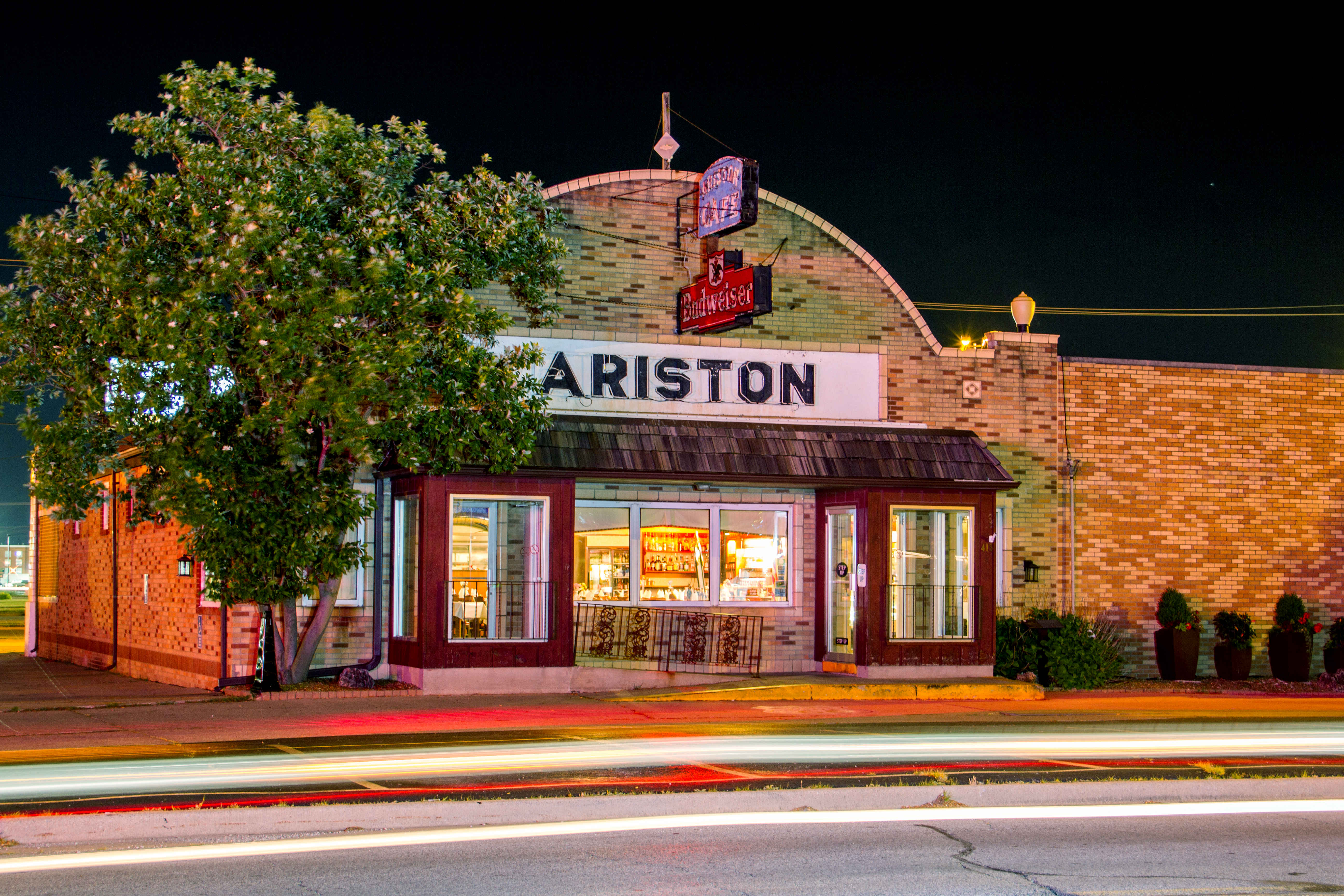 Eating dinner at the Ariston Cafe is one of the top 10 things to do in Litchfield.