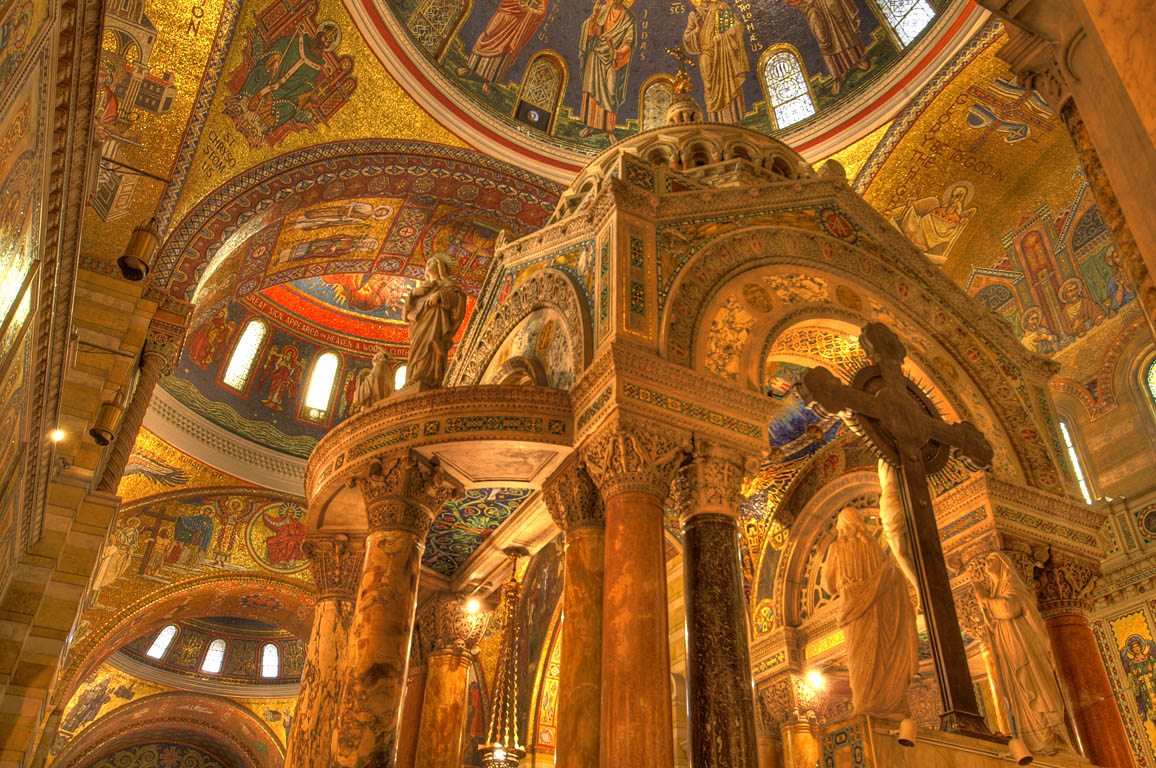 Mosaics at Cathedral Basillica in St. Louis
