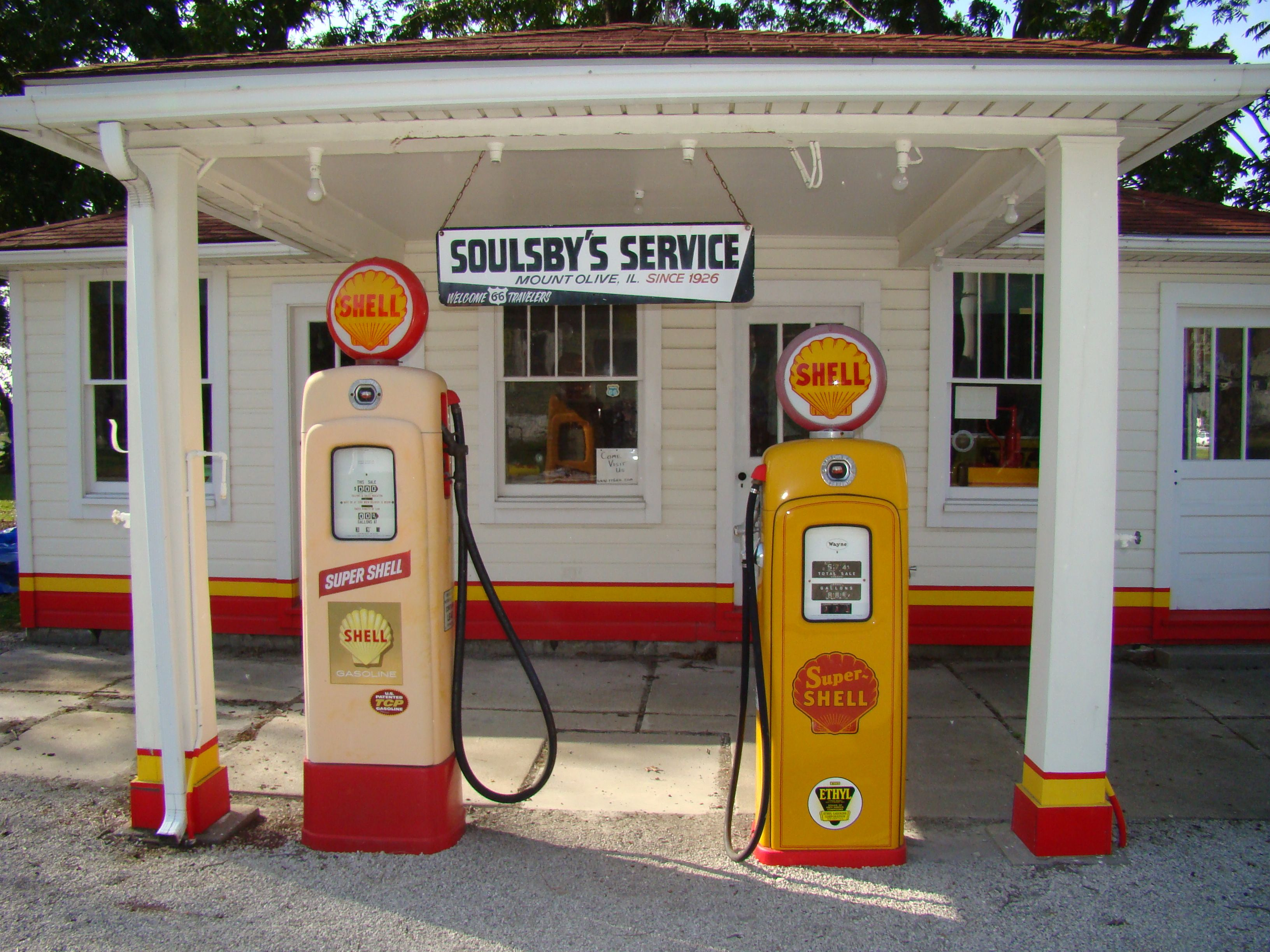 Take a pit stop at Soulby's Service Station in Mount Olive