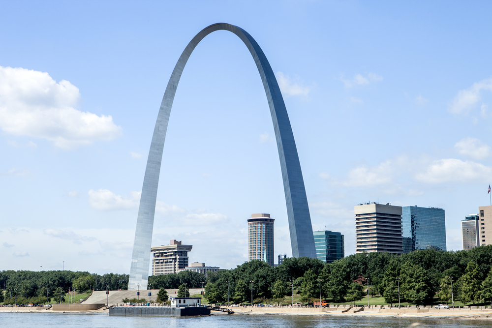 St. Louis Arch in Downtown St. Louis