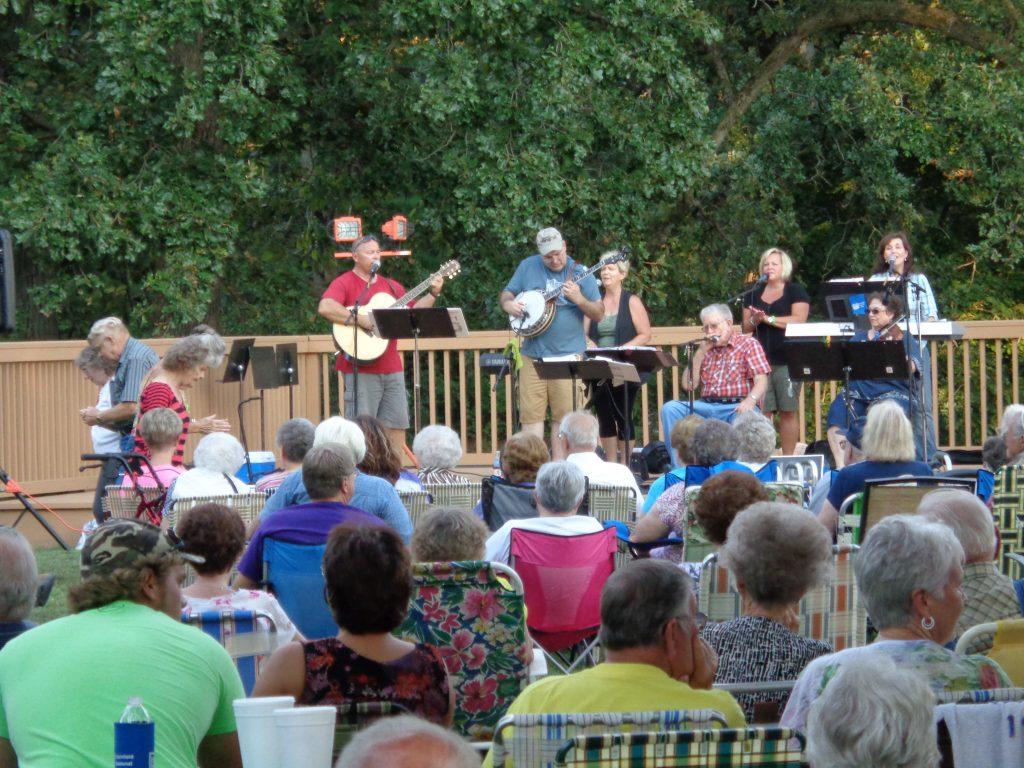 Scrap, Iron, and Gold Concert at Walton Park