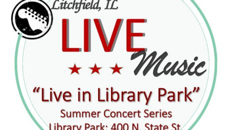 Live in Library Park Logo