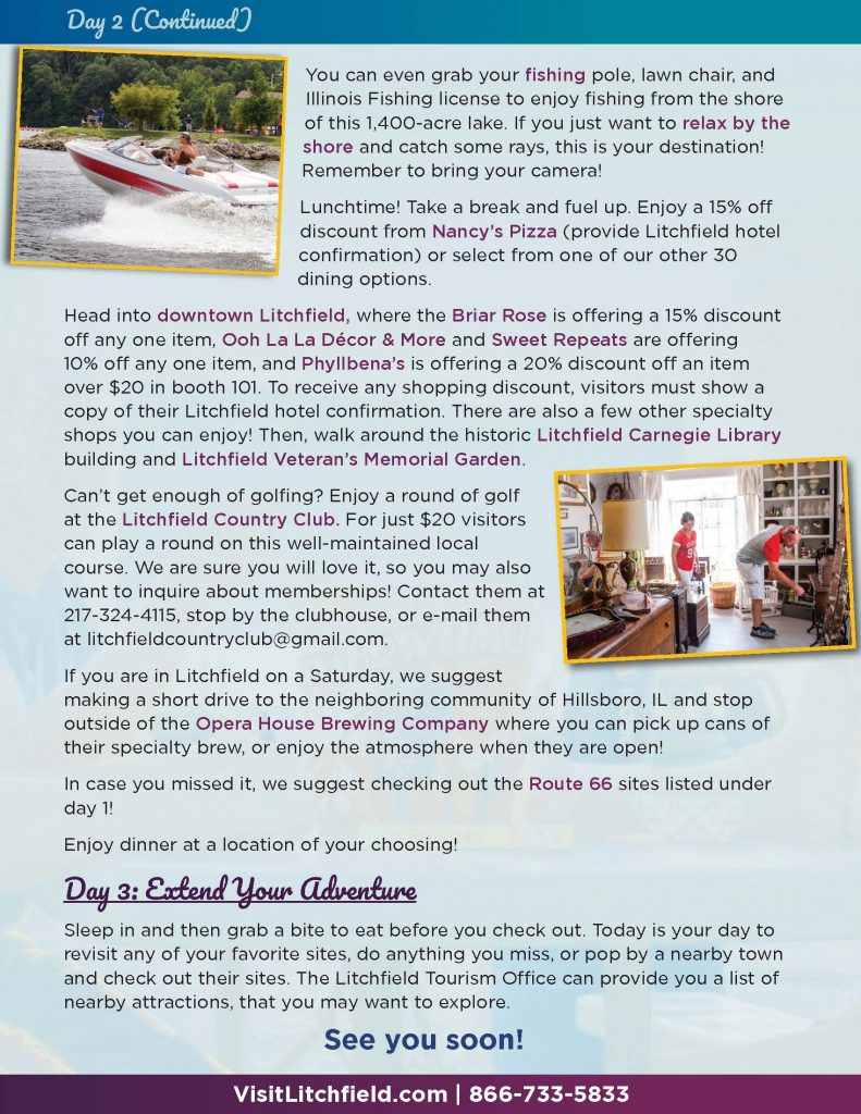 Picture of page 4 Litchfield Getaway Page