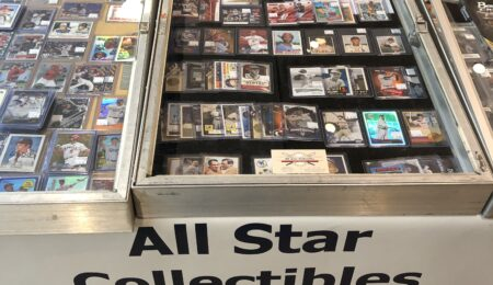 All Star Collectible sign