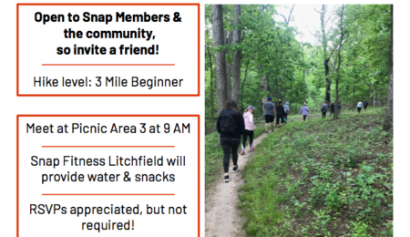 Get fit and have fun trail hike